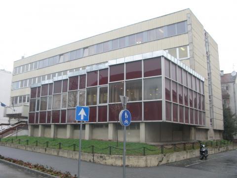 A Bajai Járásbíróság és a Bajai Járási Ügyészség épülete