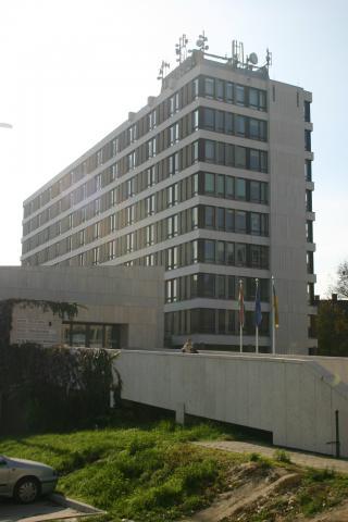 a Pécsi Törvényszék és a Pécsi Ítélőtábla épülete