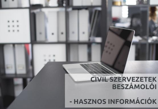 Tájékoztatás a civil beszámolók nagyszámú érkezéséről